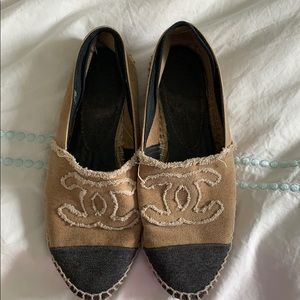 First edition much loved Chanel espadrilles